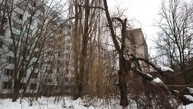 Apartments in Pripyat